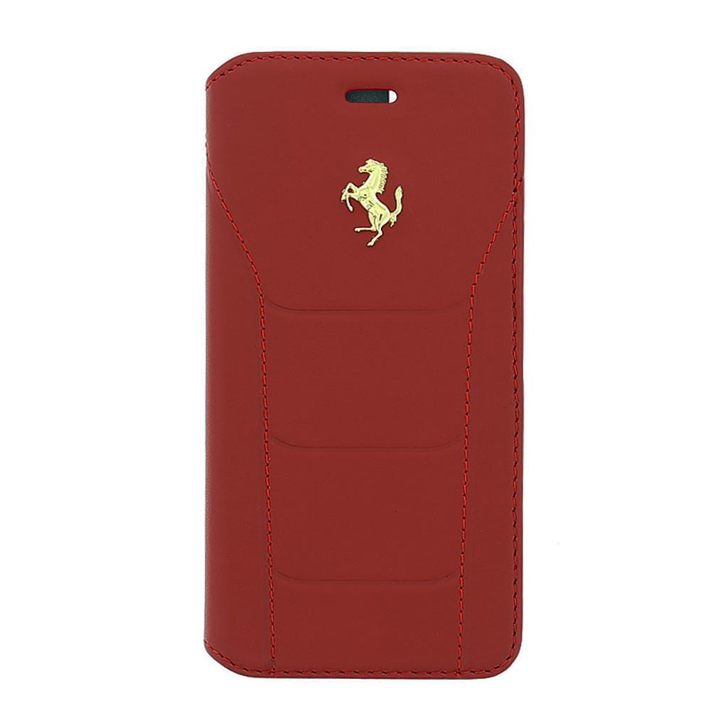 Pouzdro / kryt pro Apple iPhone 6 / 6S - Ferrari, 488 Book Red