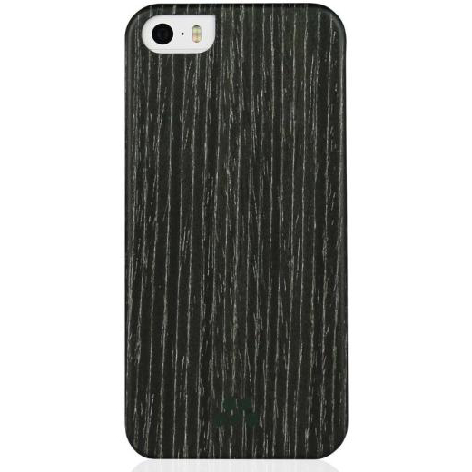 Pouzdro / kryt pro Apple iPhone 5 / 5S / SE - Evutec, Wood Black Apricot