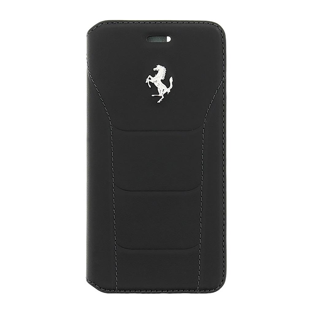 Pouzdro / kryt pro Apple iPhone 5 / 5S / SE - Ferrari, 488 Book Black