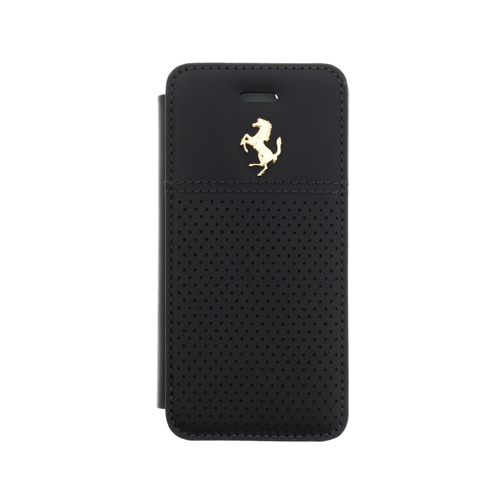 Pouzdro / kryt pro Apple iPhone 5 / 5S / SE - Ferrari, GTB Book Black
