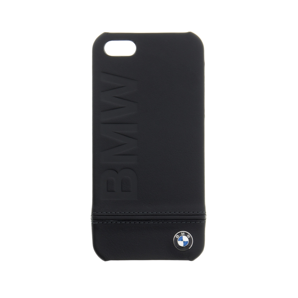 Pouzdro / kryt pro Apple iPhone 5 / 5S / SE - BMW, Signature Back Black