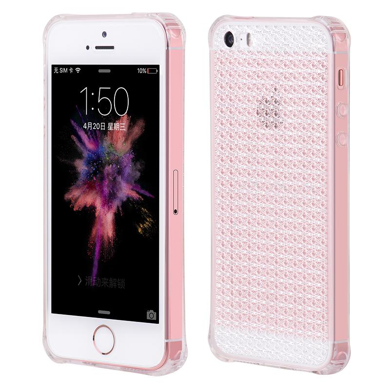 Pouzdro / kryt pro Apple iPhone 5 / 5S / SE - Hoco, Diamond Clear