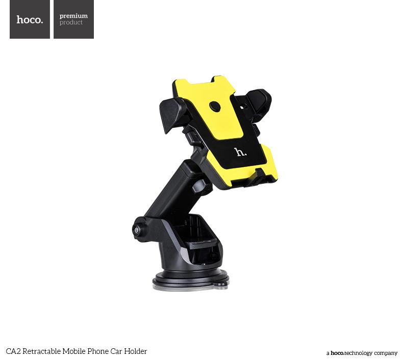 Univerzální držák do auta pro iPhone - Hoco, CA2 Retractable