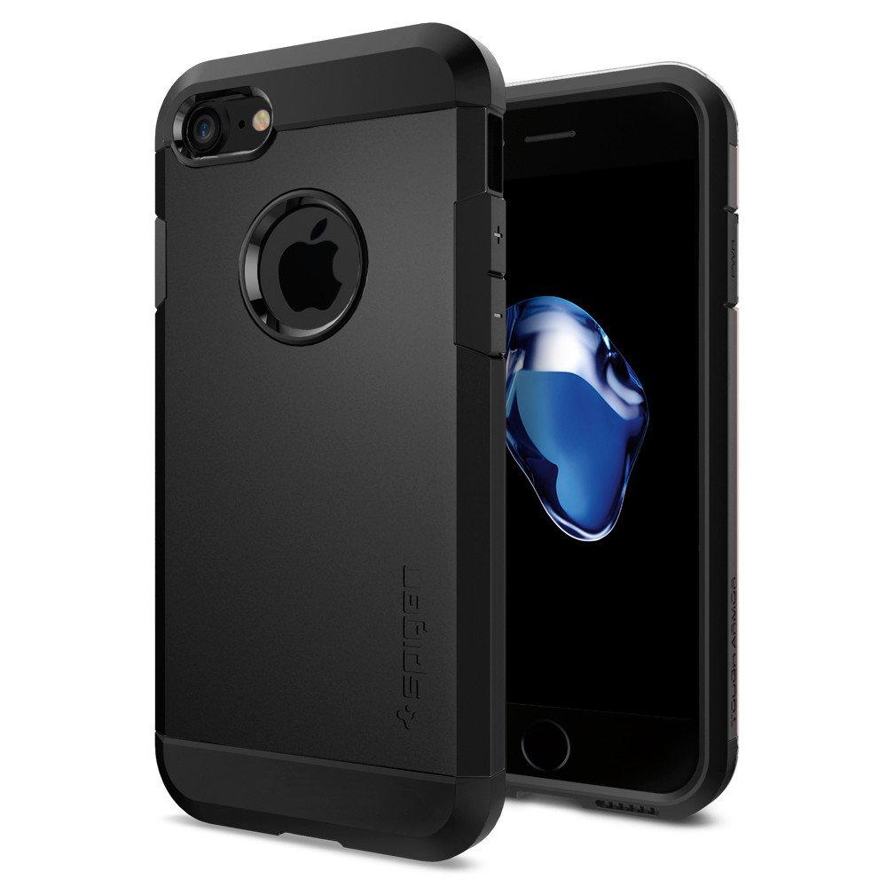 Pouzdro / kryt pro Apple iPhone 7 - Spigen, Tough Armor Black