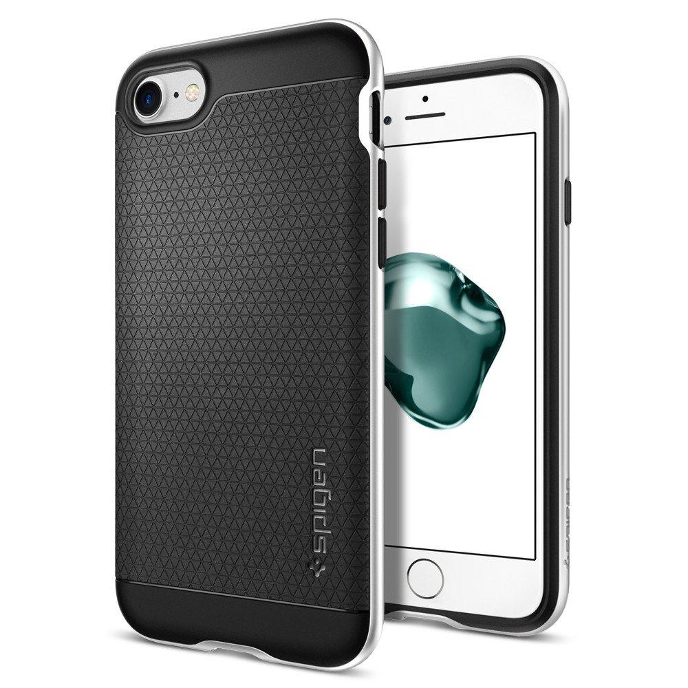 Pouzdro / kryt pro Apple iPhone 7 / 8 - Spigen, Neo Hybrid Satin Silver
