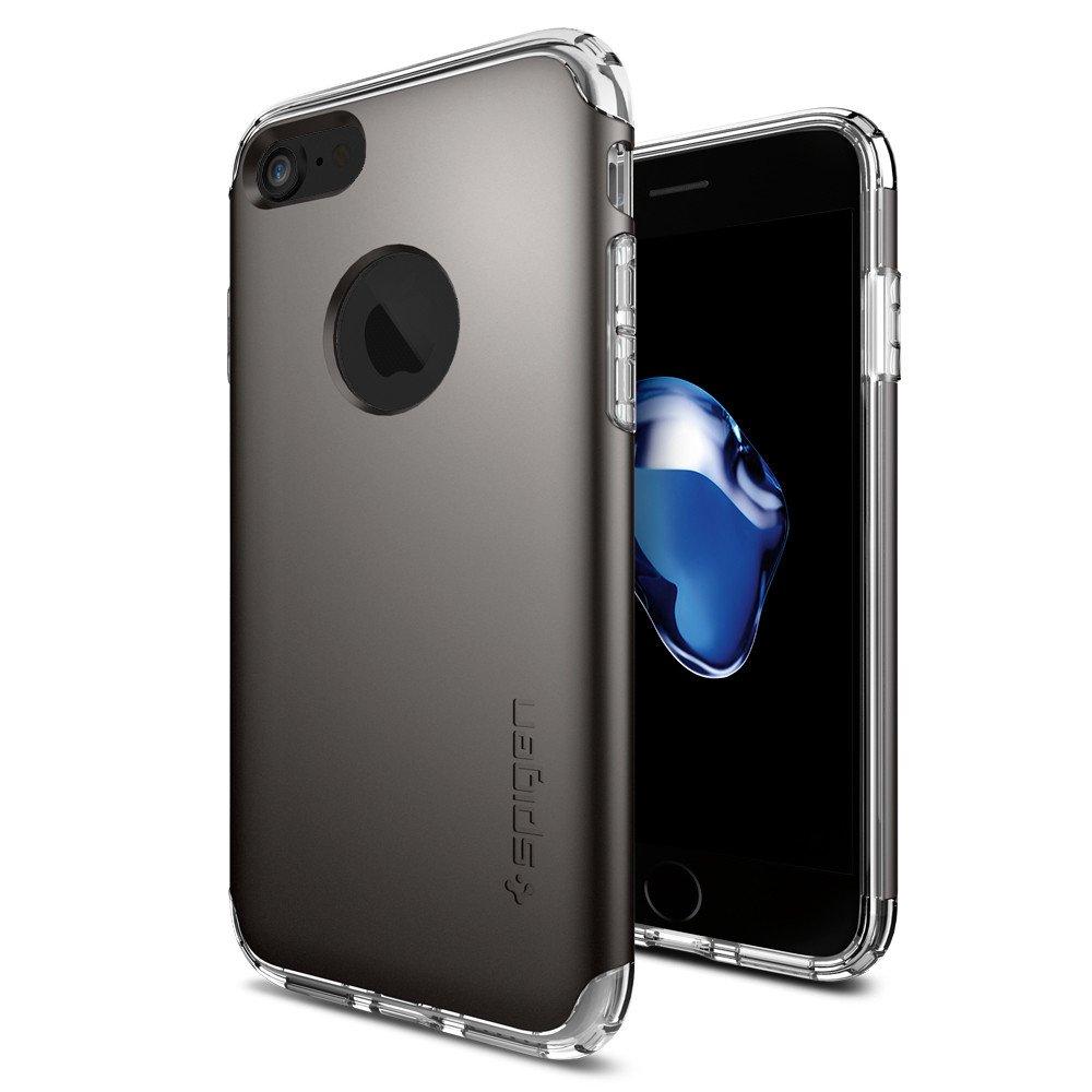Pouzdro / kryt pro Apple iPhone 7 - Spigen, Hybrid Armor Gunmetal