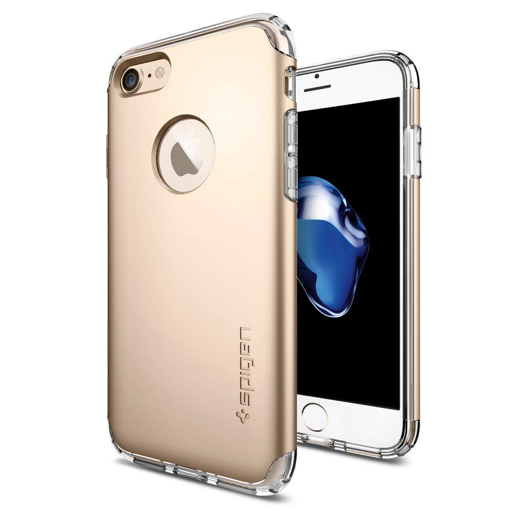 Pouzdro / kryt pro Apple iPhone 7 - Spigen, Hybrid Armor Champagne Gold