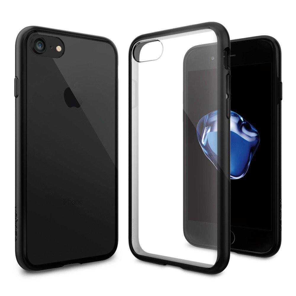 Pouzdro / kryt pro Apple iPhone 7 - Spigen, Ultra Hybrid Black