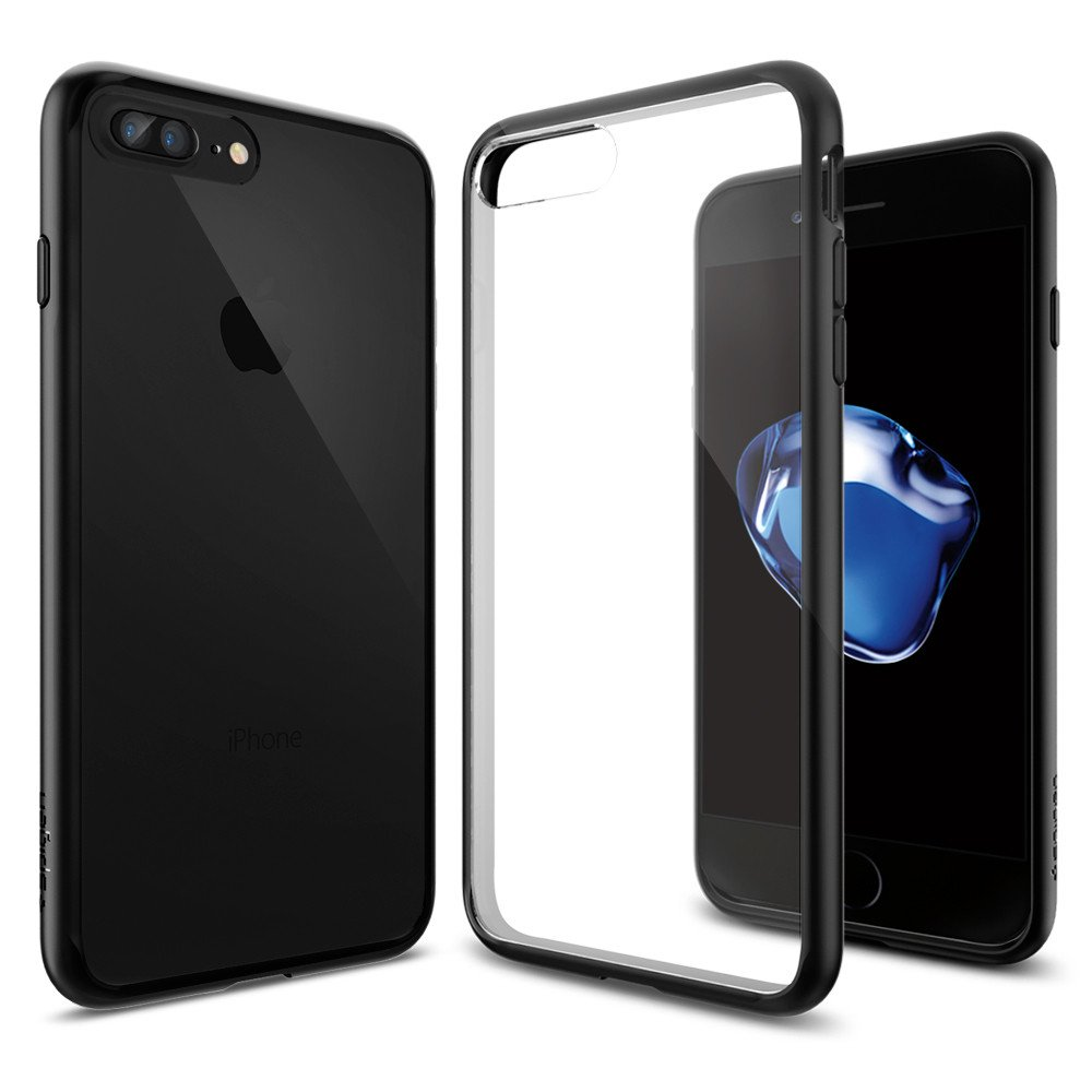 Pouzdro / kryt pro Apple iPhone 7 PLUS / 8 PLUS - Spigen, Ultra Hybrid Black