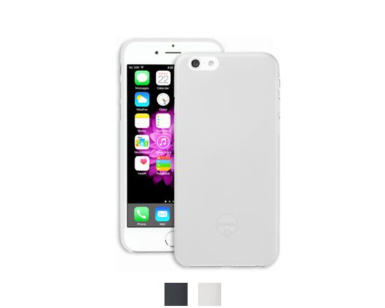 Pouzdro / kryt pro Apple iPhone 6 / 6S - Ozaki, O!Coat 0,3 Solid White - VÝPRODEJ