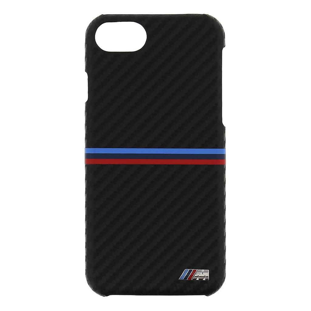 Pouzdro / kryt pro iPhone 7 - BMW, M-Carbon Back Black