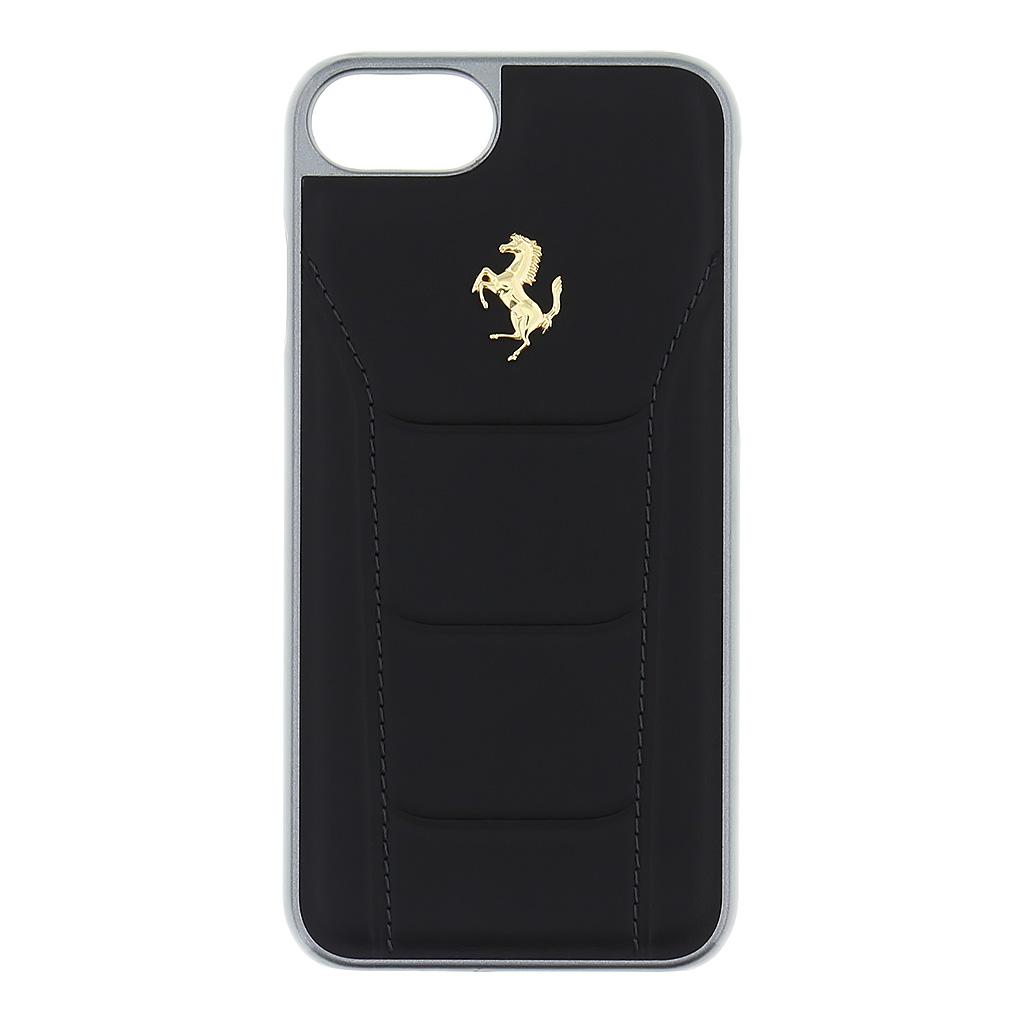 Pouzdro / kryt pro iPhone 7 / 8 - Ferrari, 488 Back Black