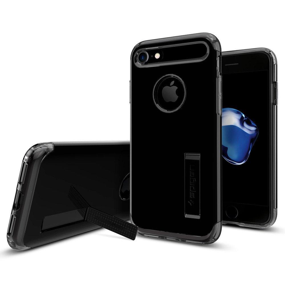 Pouzdro / kryt pro Apple iPhone 7 - Spigen, Slim Armor Jet Black