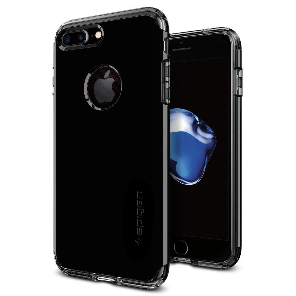 Pouzdro / kryt pro Apple iPhone 7 - Spigen, Hybrid Armor Jet Black