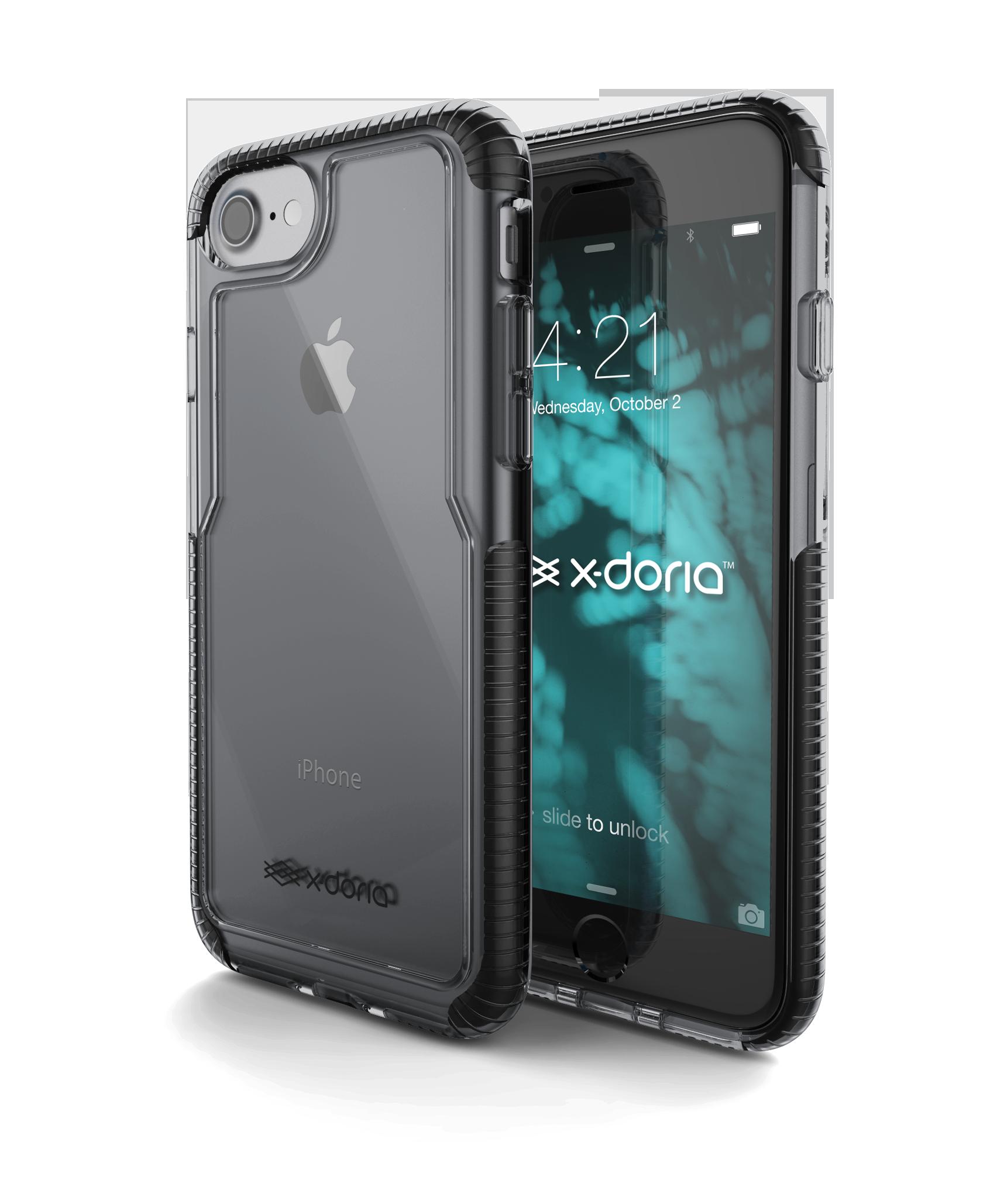 Pouzdro / kryt pro Apple iPhone 7 - X-DORIA, IMPACT PRO BLACK