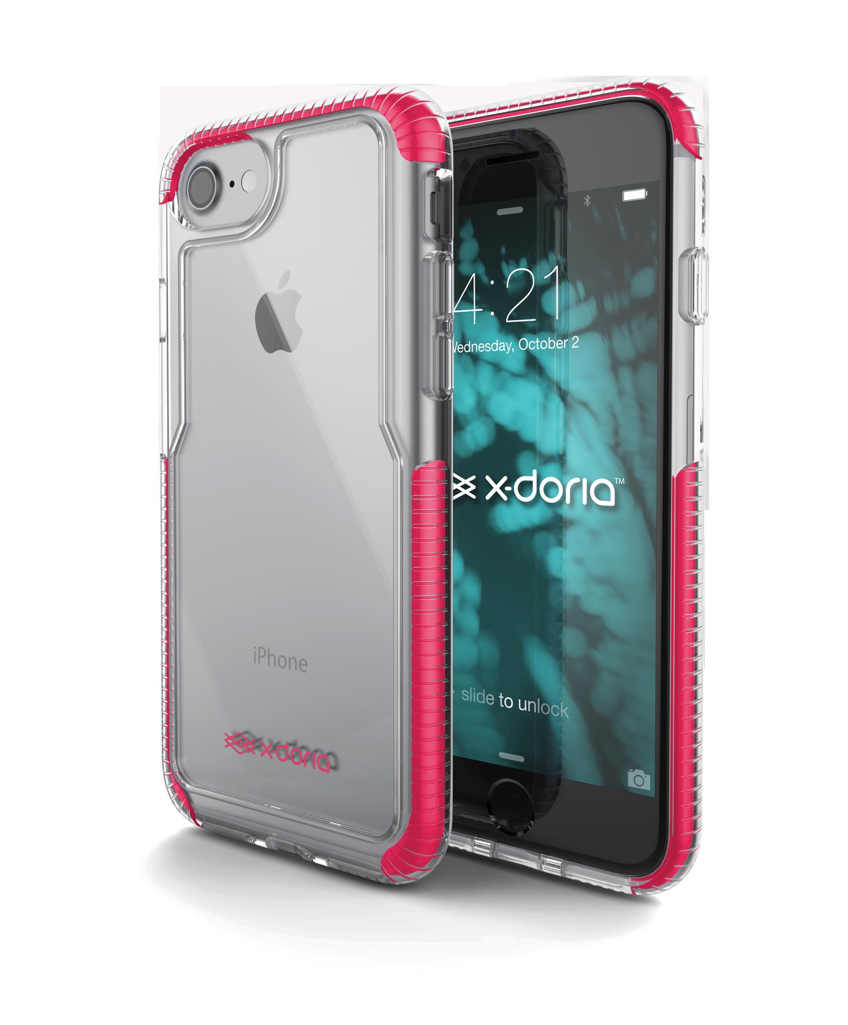 Pouzdro / kryt pro Apple iPhone 7 - X-DORIA, IMPACT PRO PINK
