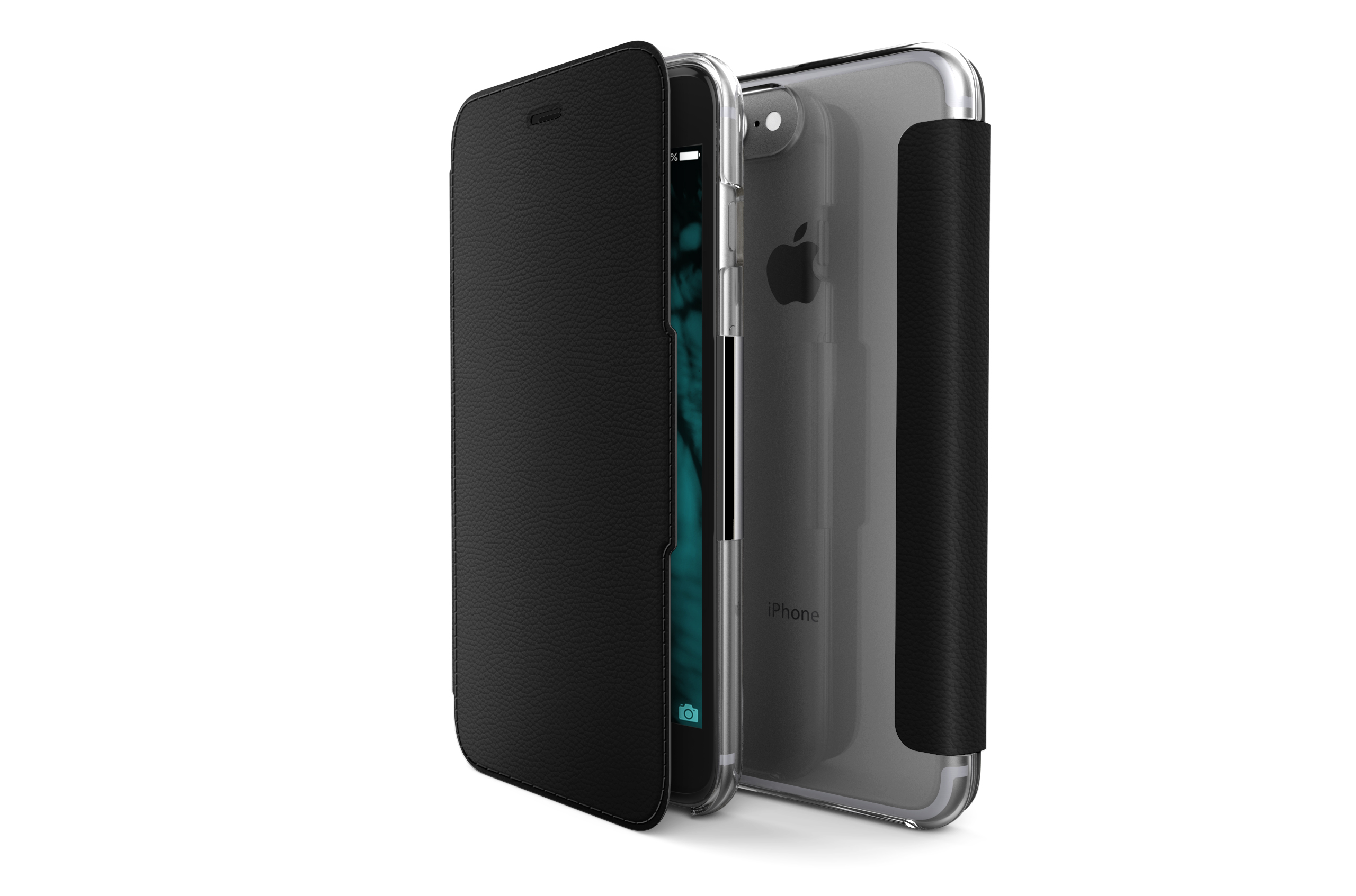 Pouzdro / kryt pro iPhone 7 Plus - X-DORIA, ENGAGE FOLIO BLACK