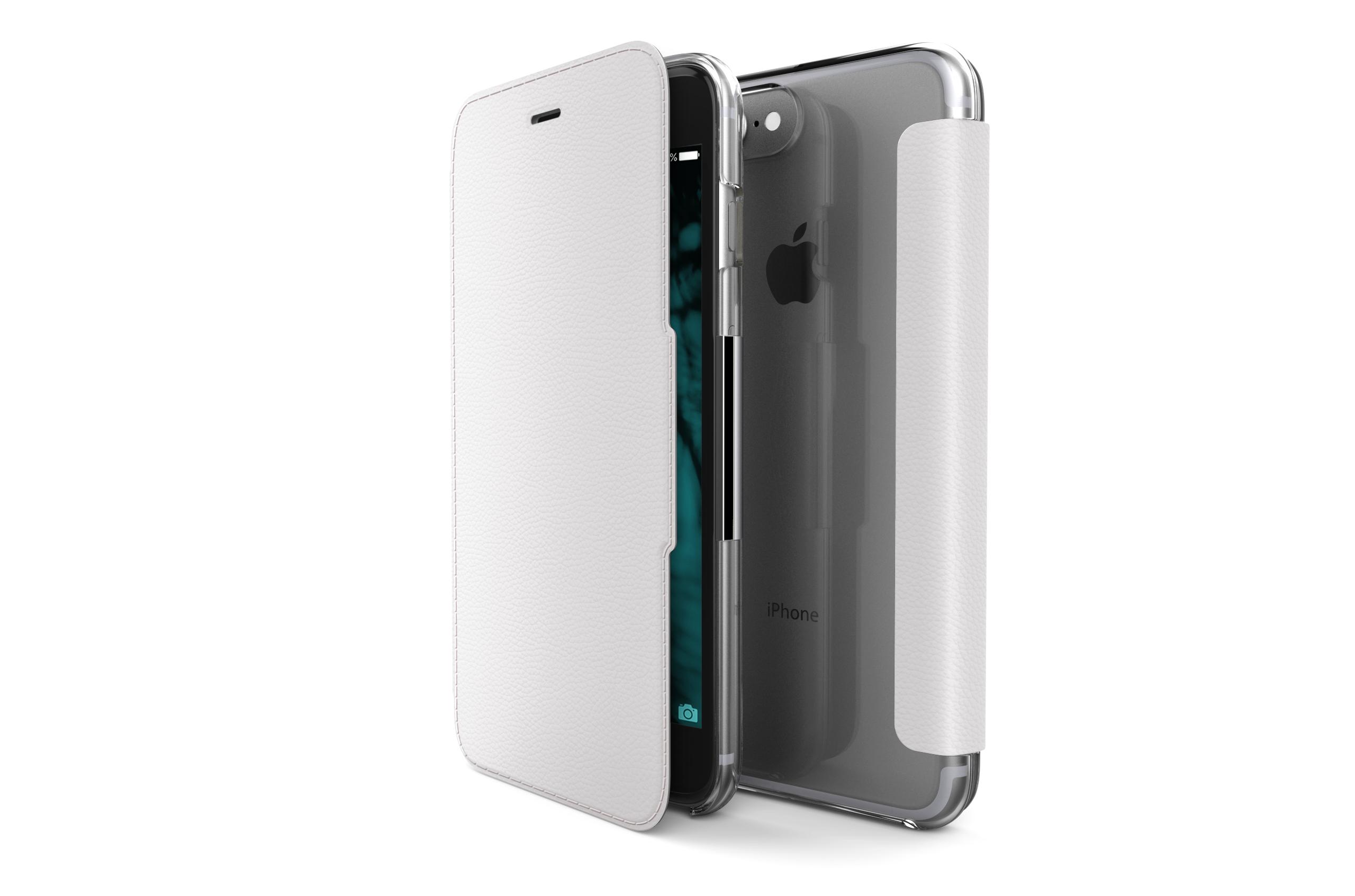 Pouzdro / kryt pro iPhone 7 Plus - X-DORIA, ENGAGE FOLIO WHITE
