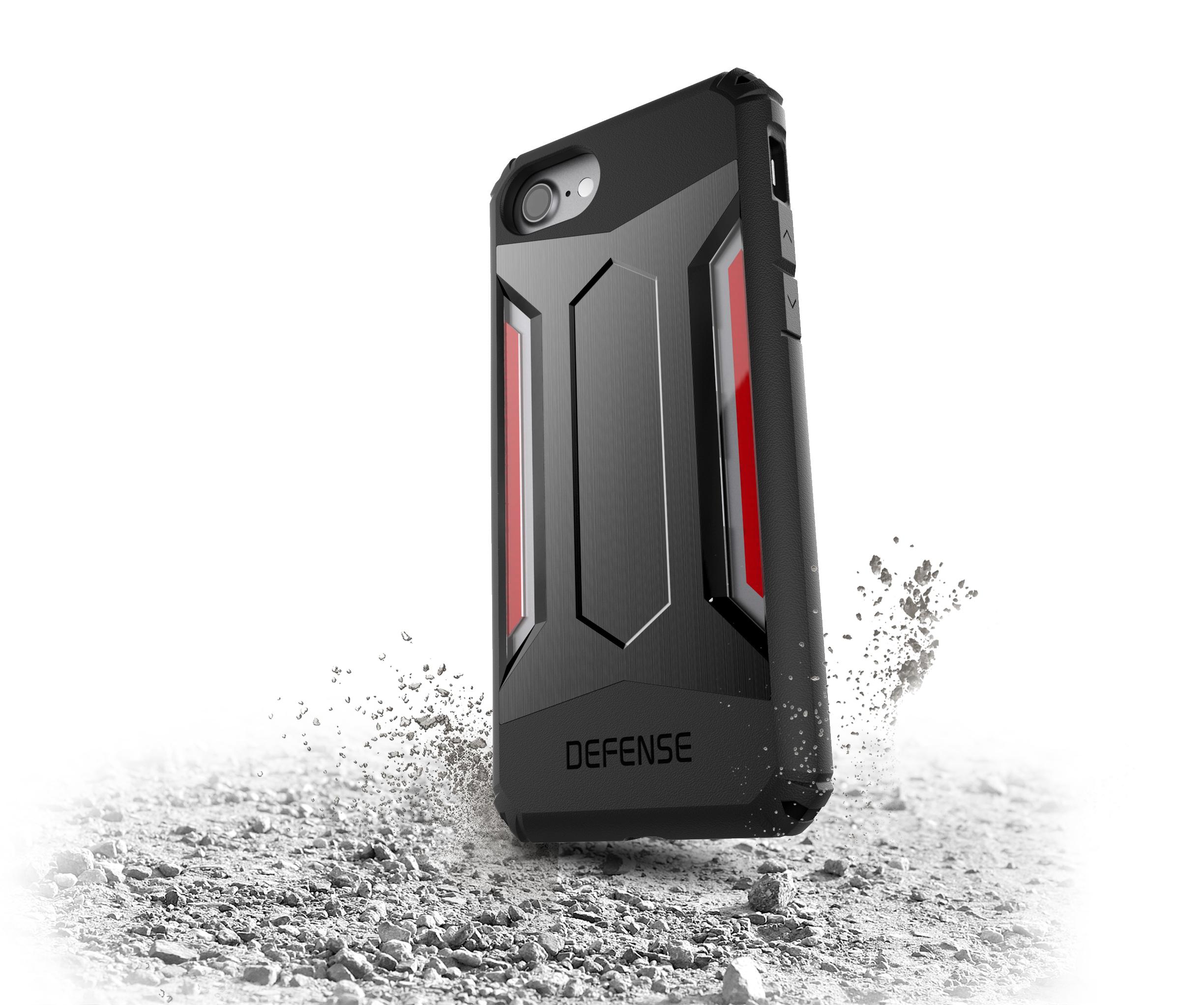 Pouzdro / kryt pro Apple iPhone 7 / 8 - X-DORIA, DEFENSE GEAR SPACE GREY