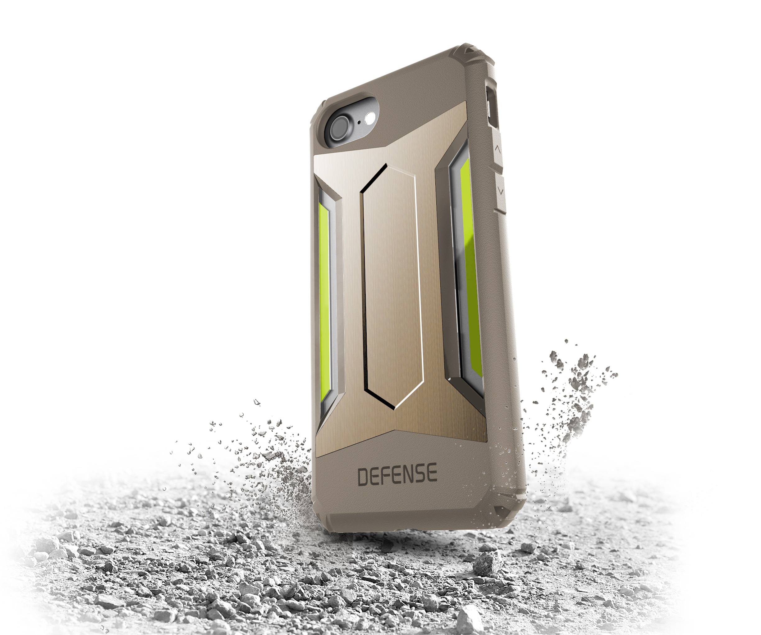 Pouzdro / kryt pro Apple iPhone 7 - X-DORIA, DEFENSE GEAR GOLD
