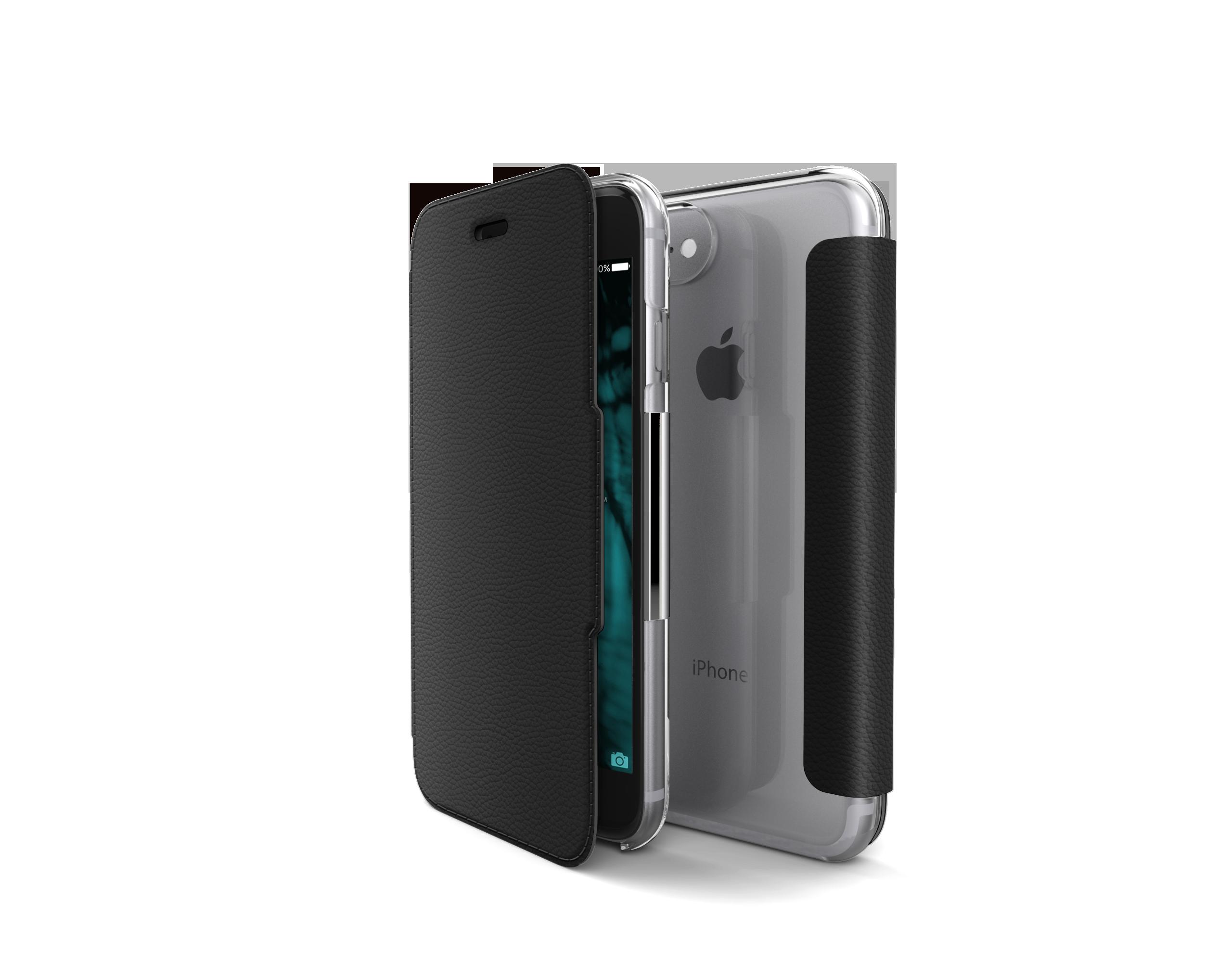 Pouzdro / kryt pro iPhone 7 - X-DORIA, ENGAGE FOLIO BLACK