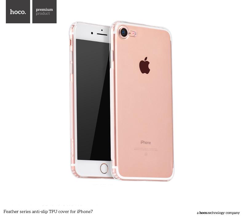 Pouzdro / kryt pro Apple iPhone 7 - Hoco, Feather