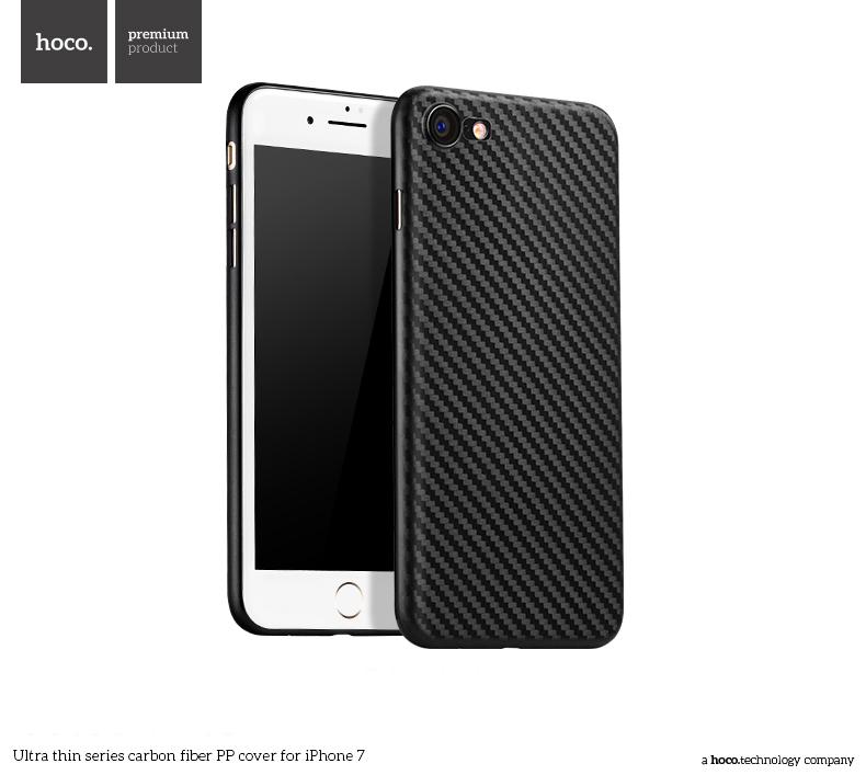 Pouzdro / kryt pro Apple iPhone 7 - Hoco, Carbon