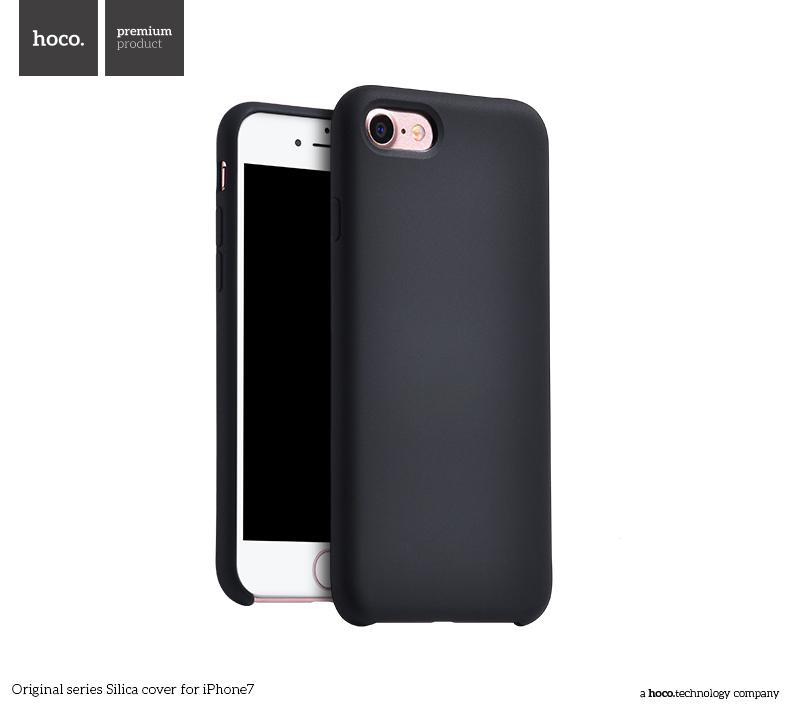Pouzdro / kryt pro Apple iPhone 7 - Hoco, Silica Black