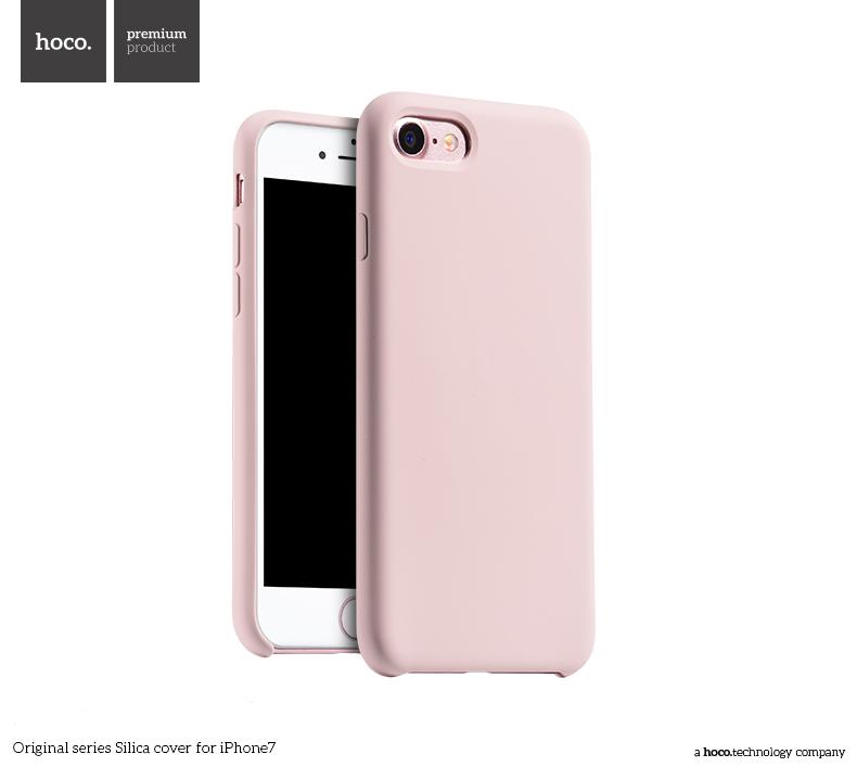 Pouzdro / kryt pro Apple iPhone 7 - Hoco, Silica Pink