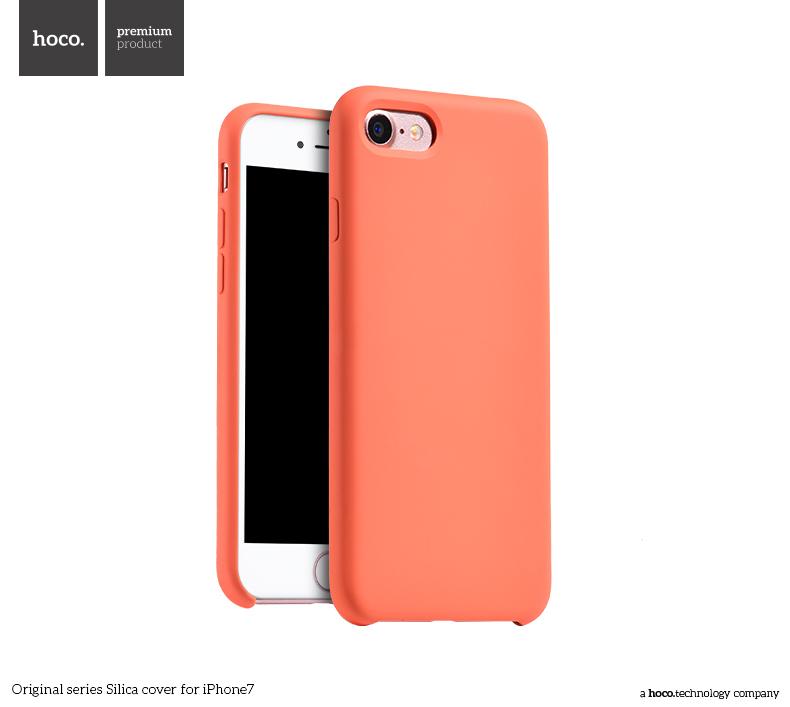 Pouzdro / kryt pro Apple iPhone 7 - Hoco, Silica Orange