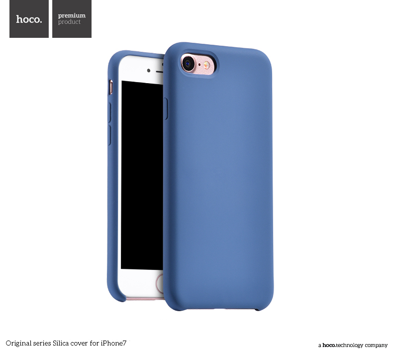 Pouzdro / kryt pro Apple iPhone 7 - Hoco, Silica Blue