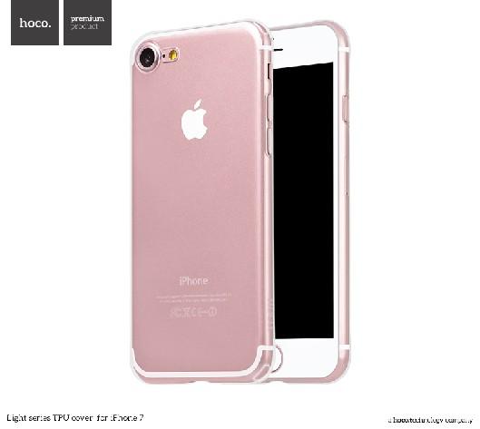 Pouzdro / kryt pro Apple iPhone 7 - Hoco, Light Transparent