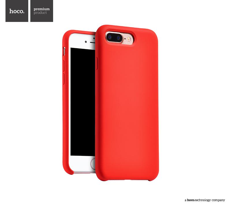 Pouzdro / kryt pro Apple iPhone 7 PLUS - Hoco, Silica Red