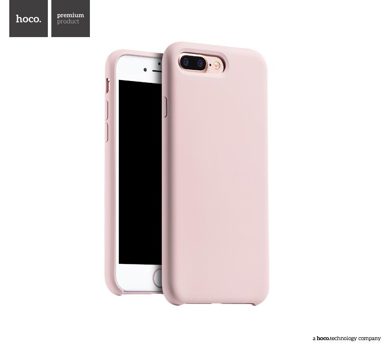Pouzdro / kryt pro Apple iPhone 7 PLUS - Hoco, Silica Pink