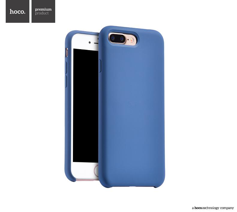Pouzdro / kryt pro Apple iPhone 7 PLUS - Hoco, Silica Blue