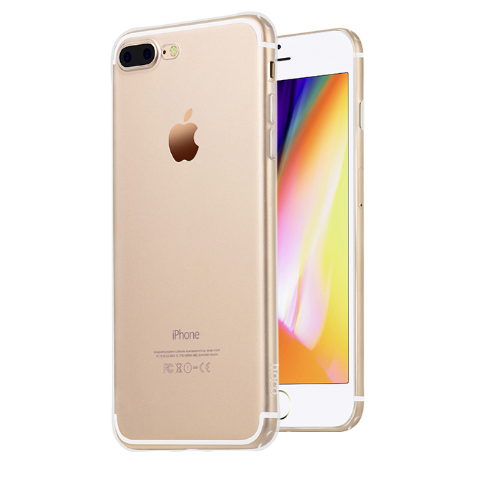 Pouzdro / kryt pro Apple iPhone 7 PLUS - Hoco, Light Transparent