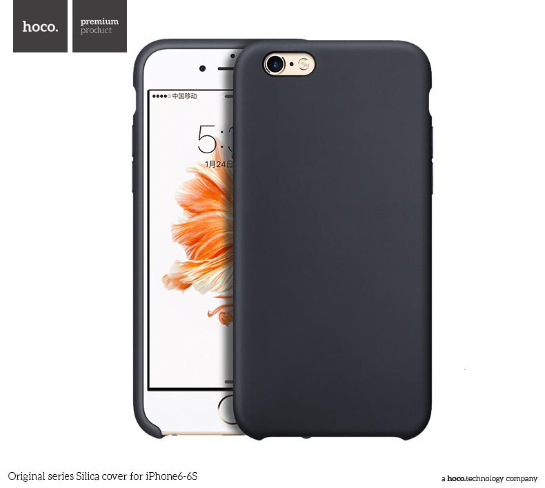 Pouzdro / kryt pro Apple iPhone 6 / 6S - Hoco, Silica Black