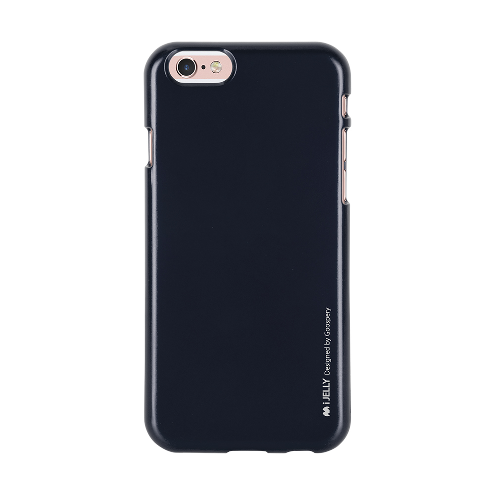 Pouzdro / kryt pro Apple iPhone 6 / 6S - Mercury, i-Jelly Black