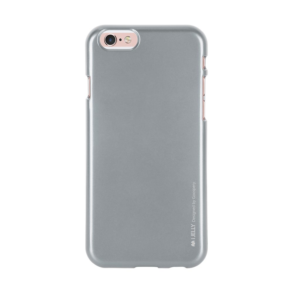 Pouzdro / kryt pro Apple iPhone 6 / 6S - Mercury, i-Jelly Gray