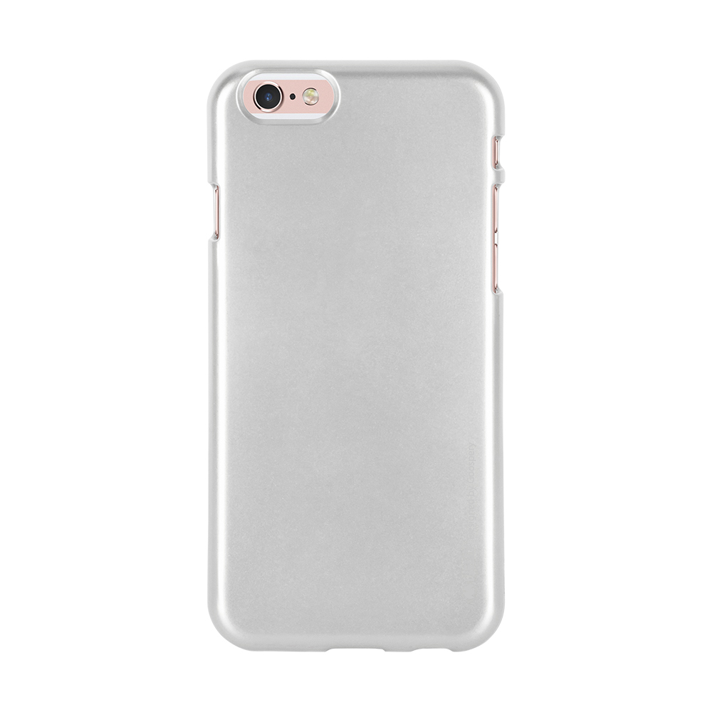 Pouzdro / kryt pro Apple iPhone 6 / 6S - Mercury, i-Jelly Silver