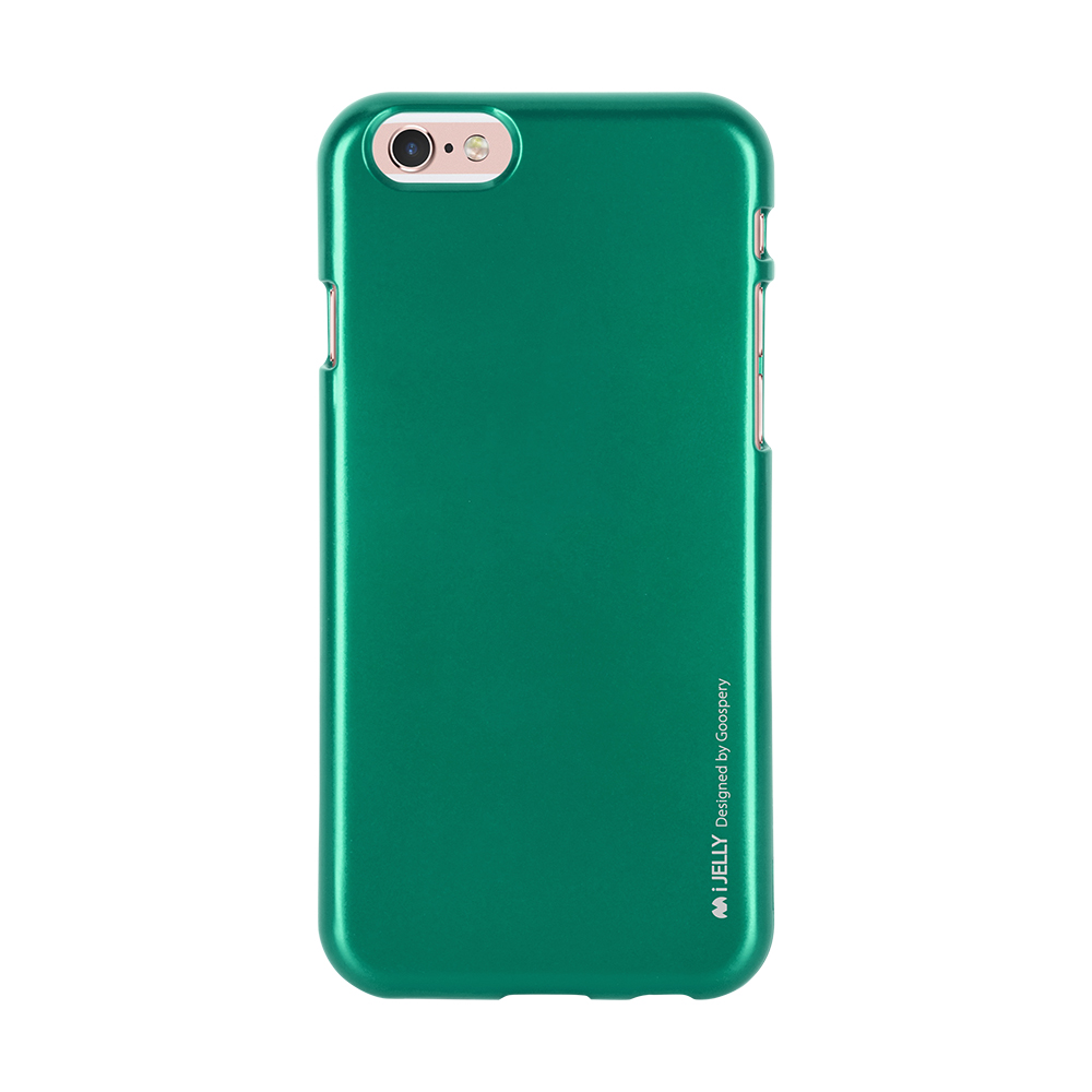Pouzdro / kryt pro Apple iPhone 6 / 6S - Mercury, i-Jelly Green