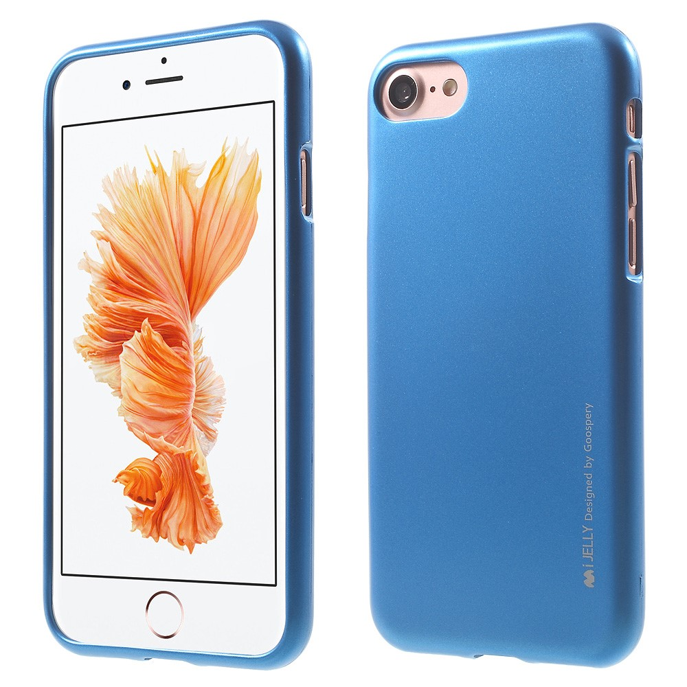Pouzdro / kryt pro Apple iPhone 7 / 8 - Mercury, i-Jelly Blue