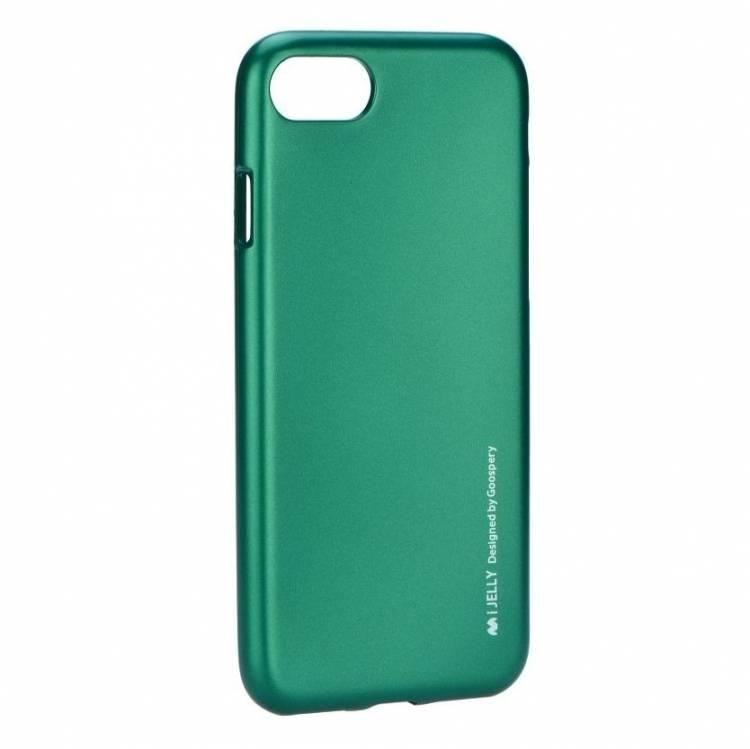 Pouzdro / kryt pro Apple iPhone 7 / 8 - Mercury, i-Jelly Green