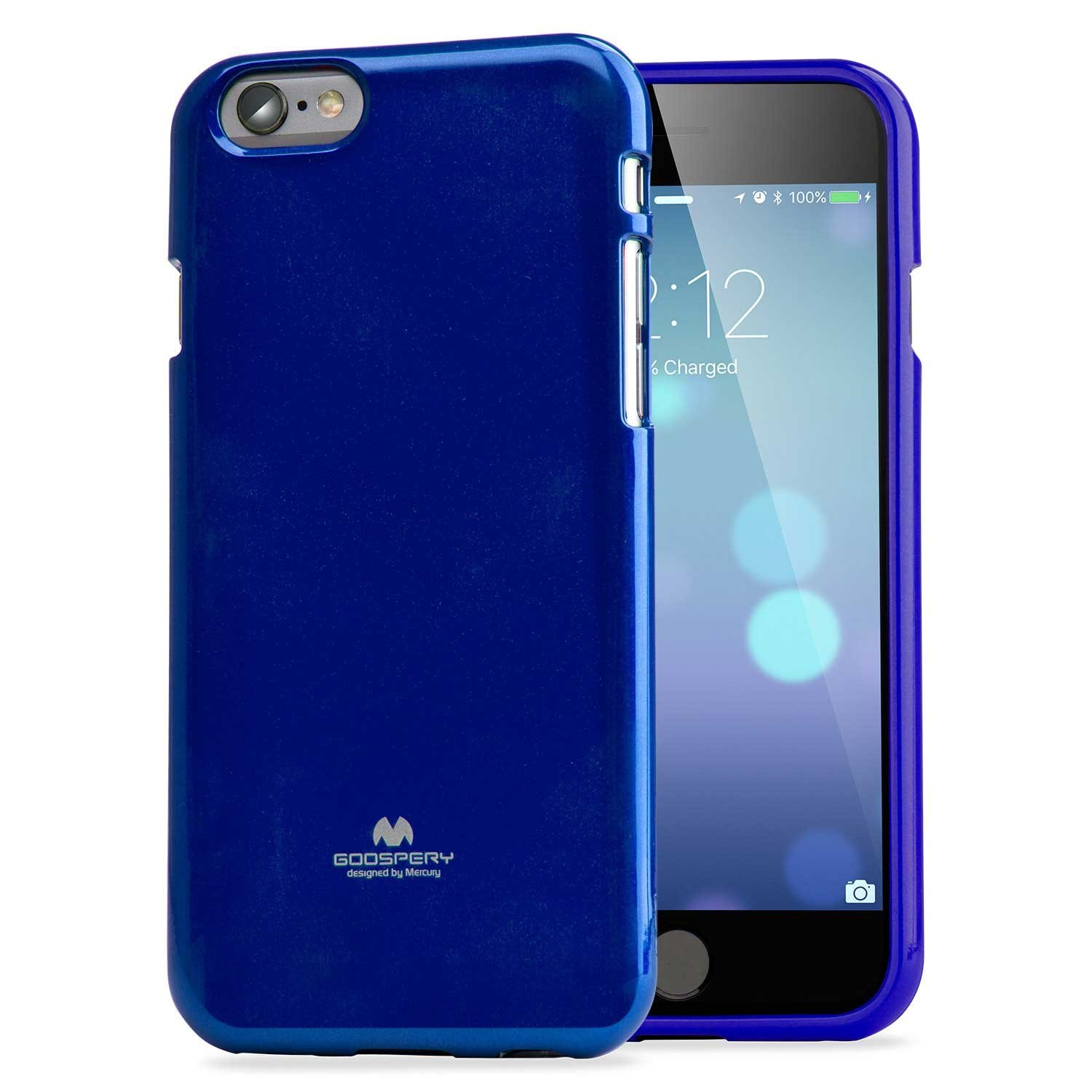 Pouzdro / kryt pro Apple iPhone 6 / 6S - Mercury, Jelly Case Blue