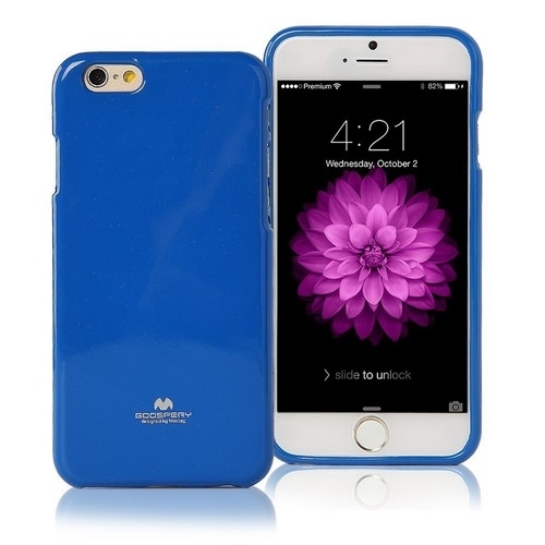 Pouzdro / kryt pro Apple iPhone 7 - Mercury, Jelly Case Blue