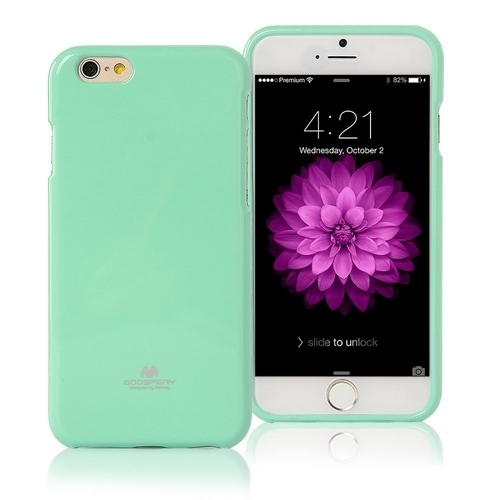 Pouzdro / kryt pro Apple iPhone 7 - Mercury, Jelly Case Mint