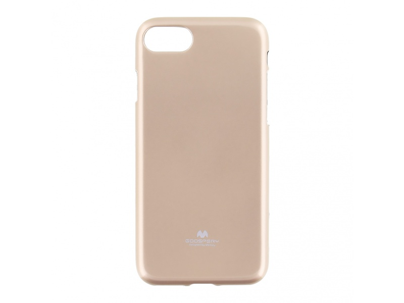 Pouzdro / kryt pro Apple iPhone 7 - Mercury, Jelly Case Gold