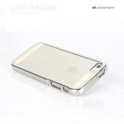 Pouzdro / kryt pro Apple iPhone 5 / 5S / SE - Mercury, Ring2 Silver