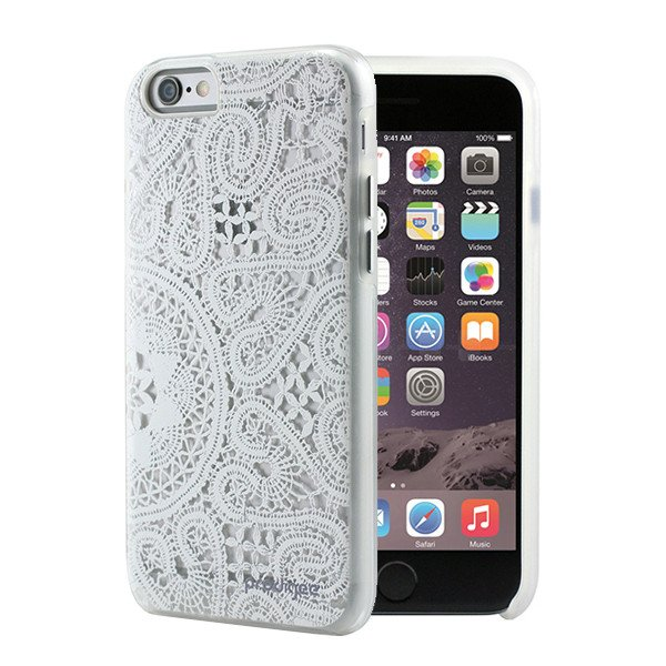 Pouzdro / kryt pro Apple iPhone 6 / 6S - Prodigee, Show Lace White