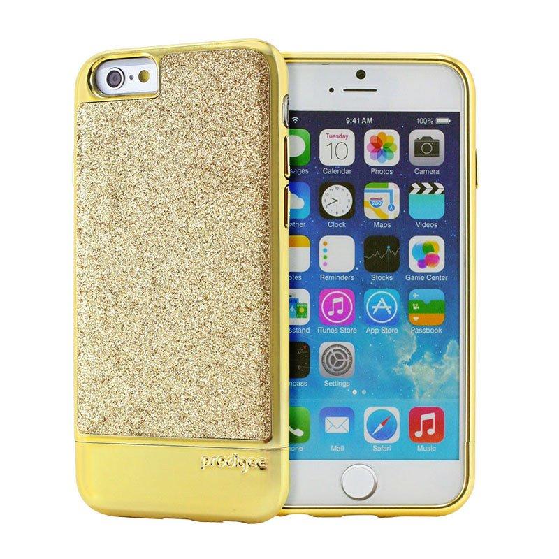 Pouzdro / kryt pro Apple iPhone 6 / 6S - Prodigee, Sparkle Gold